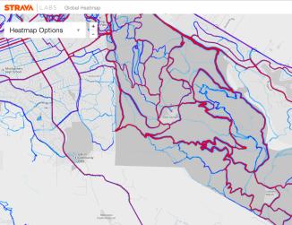 STRAVA Releases New Annadel Park Map