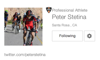 Santa Rosa Resident - Peter Stetina | Professional Cyclist on Strava