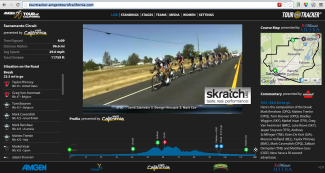 LIVE: The Tour of California is Underway